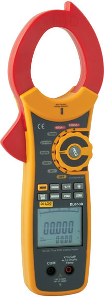 Clamp Meter How Much : Dl a ac dc true rms clamp meter with inrush